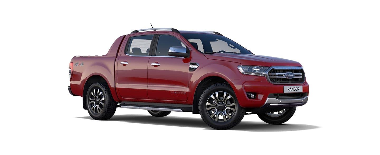 Carros Novos Nova Ford Ranger Vermelho Bari Ford Brenner Veículos