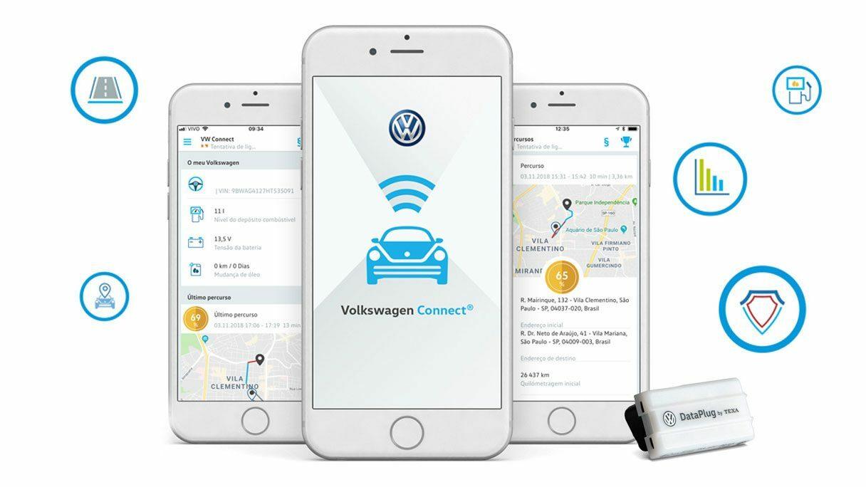 VW Connect: tudo sobre o seu T-Cross na palma da sua mão